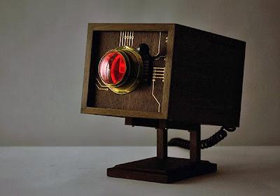 Diseño de computadora estilo retro.