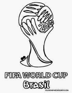Malvorlagen Fußball Weltmeisterschaft Wm 2014