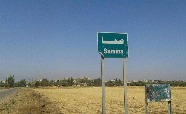 أثار التخريب في قرية صما في ريف السويداء الغربي بعد تحريرها (صور)