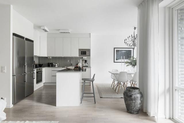 Stunning scandinavian apartment