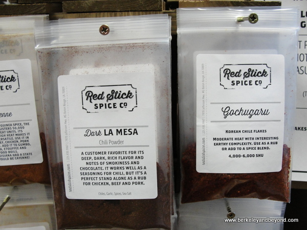 spice packets at Red Stick Spice Co. in Baton Rouge, Louisiana