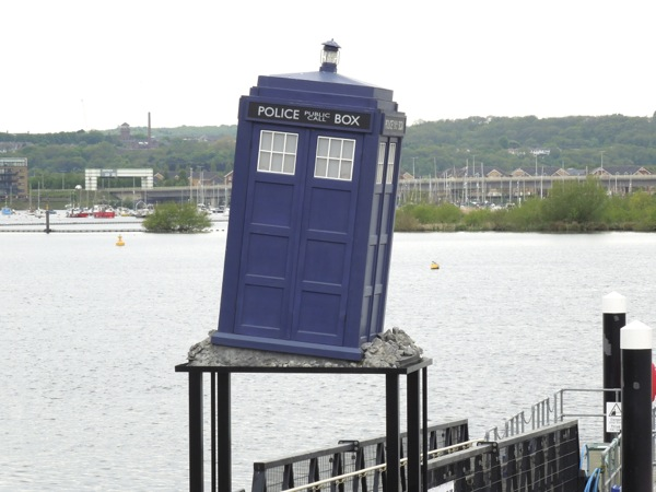 Doctor Who Experience TARDIS Cardiff Bay