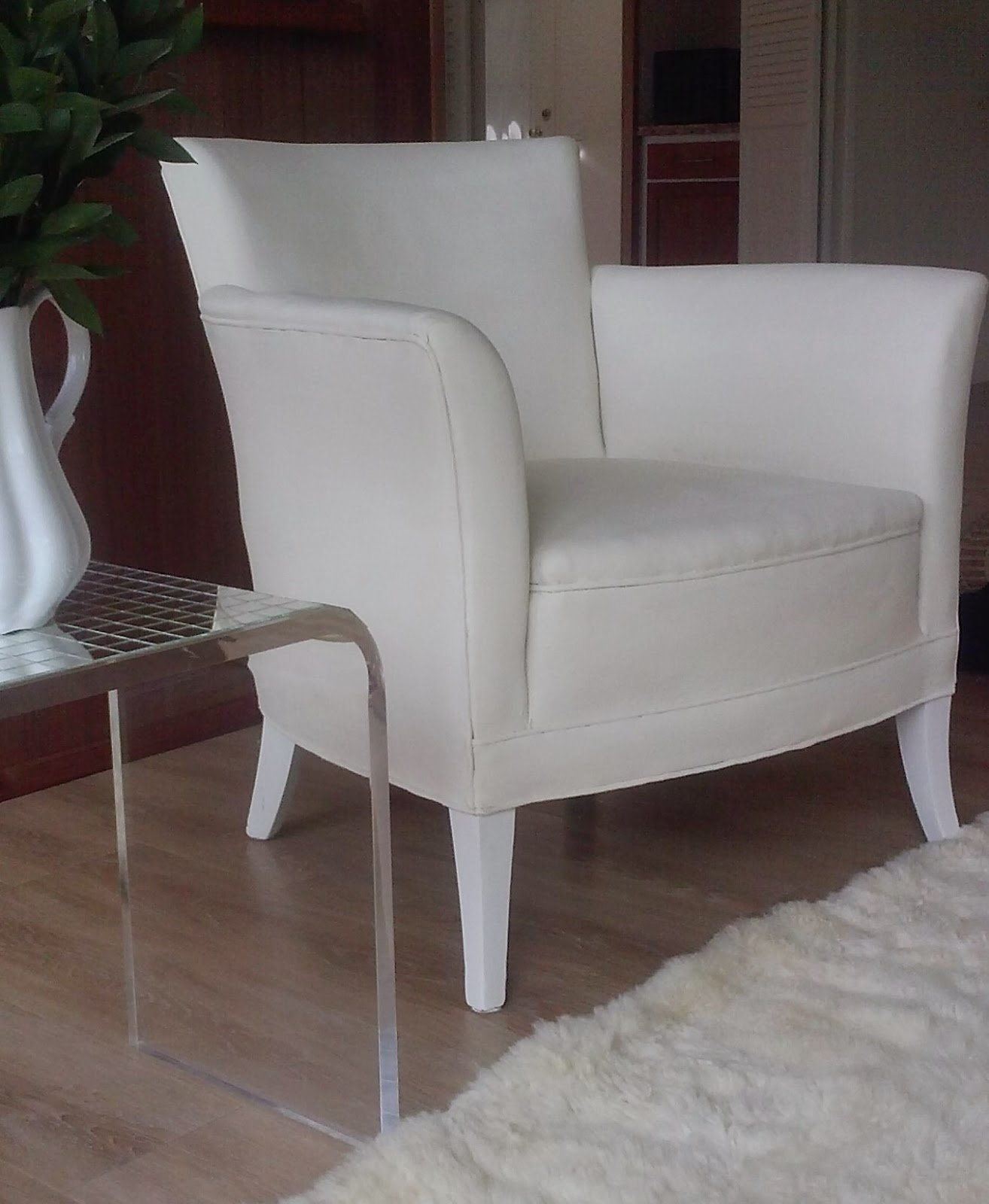 Reloved Rubbish: Chalk Paint on Fabric Chairs