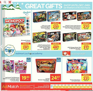 Walmart Flyer Great Gifts Dec 14 - 24, 2017