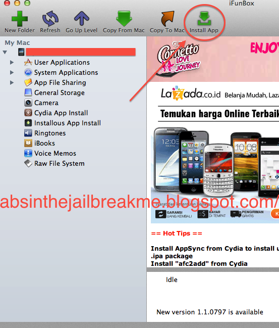 how to download ifunbox on iphone