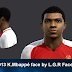 PES2013 K.Mbappé face by L.G.R Facemaker
