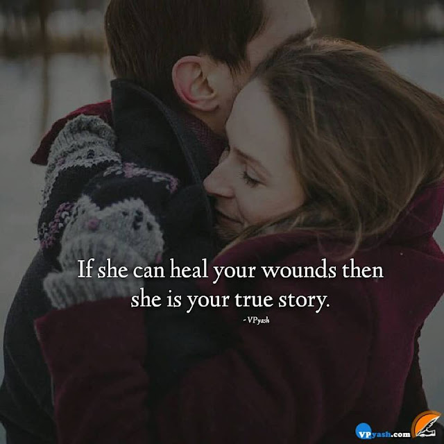 Only Your True love Can Heal Your Wounds Of Hearts