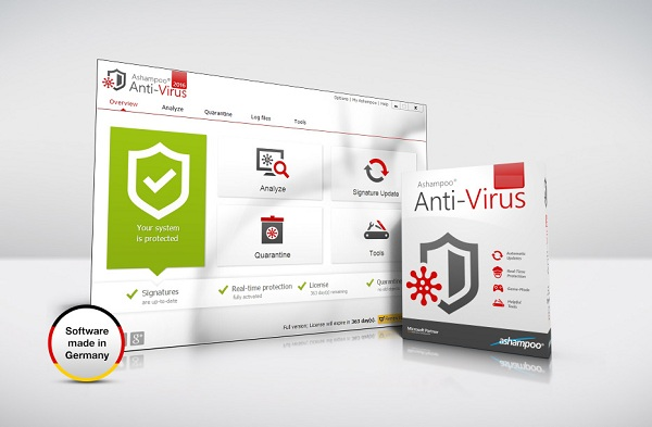 تحميل برنامج الحماية من الفيروسات Ashampoo Antivirus 2017