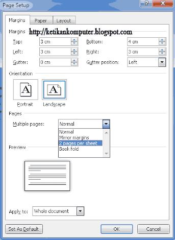 Cara Membagi Dua Halaman Word : membagi, halaman, TRICK, Membagi, Lembar, Kerja, Menjadi, Halaman