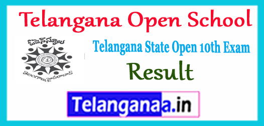 TOSS Telangana Open School 10th Class Result 2017