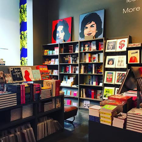 Gift shop at the Andy Warhol Museum in Pittsburgh.