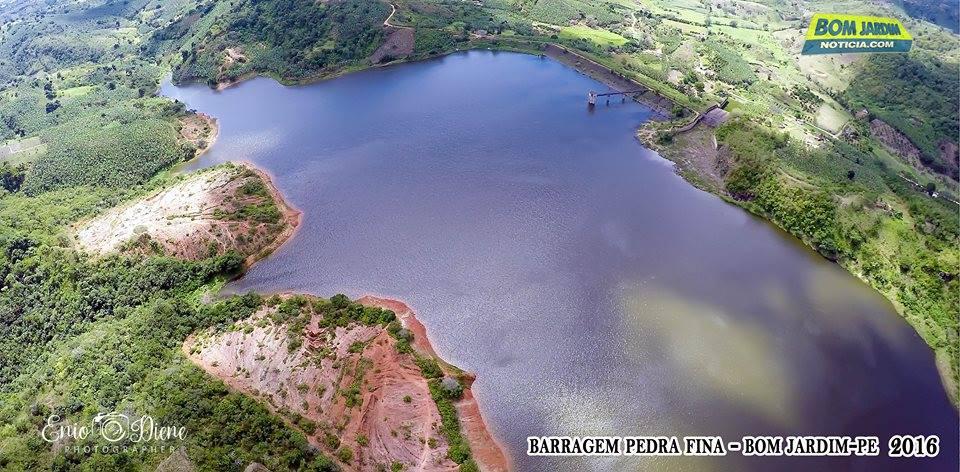 vista aerea barragem vista aerea da barragem de pedra fina bom jardim