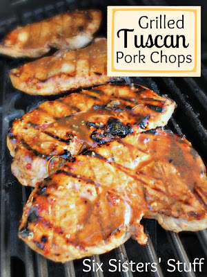 Grilled Tuscan Pork Chops Six Sisters Stuff
