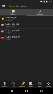 LiveScore Android Apk