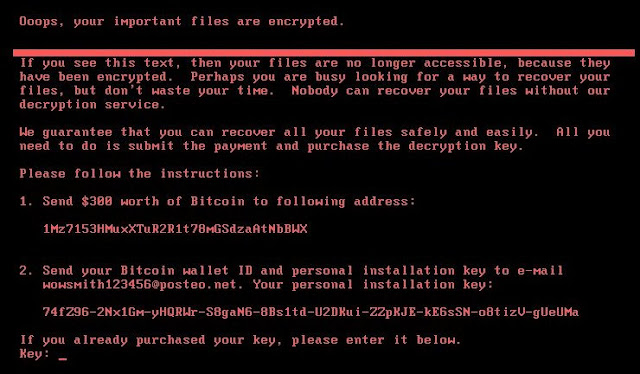 'Petya' is a Well-Planned Cyber 'Terror' Attack