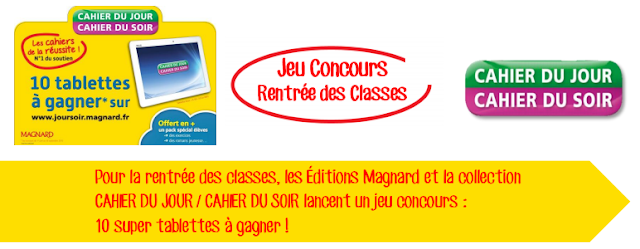 CONCOURS EDITIONS MAGNARD