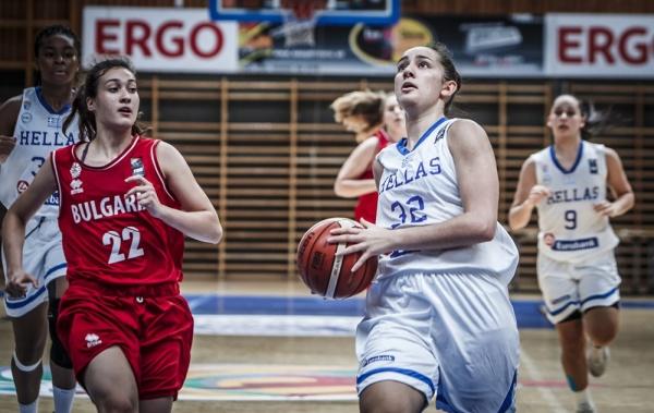 EOK | Εθνική Νεανίδων: Ελλάδα - Βουλγαρία 80-68