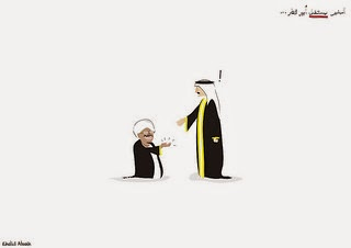 Khalid Albaih political cartoon Dhahran Saudi Arabia blog