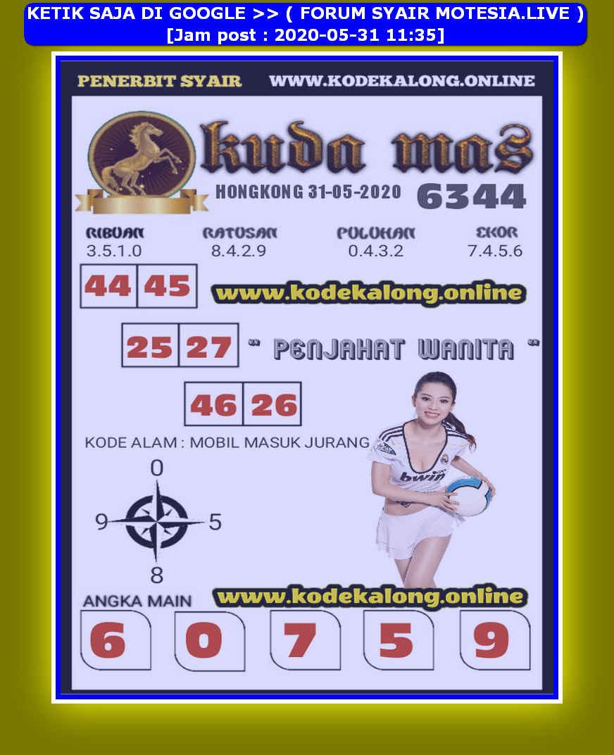 Kode syair Hongkong Minggu 31 Mei 2020 145