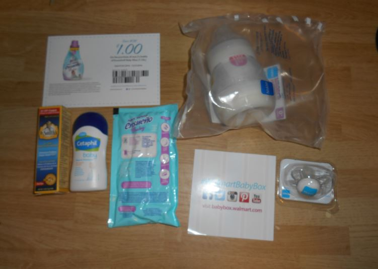 Dark Thoughts: Review: Walmart Welcome Baby Box