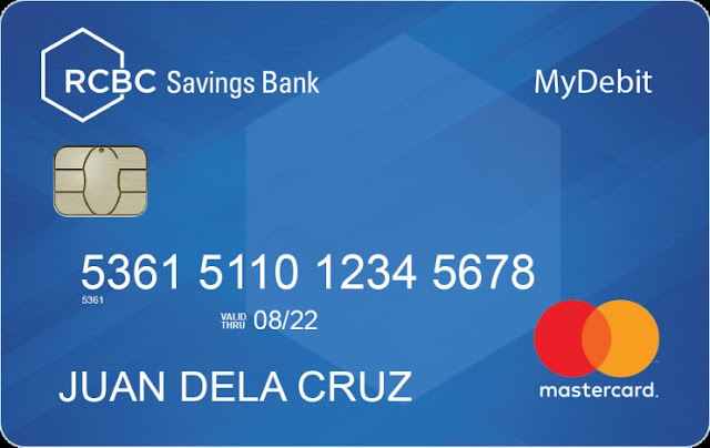 RCBC Savings Bank MyDebit Mastercard