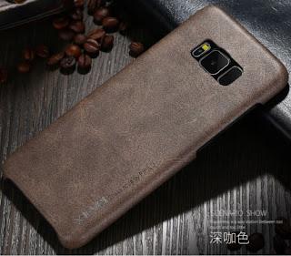 X-Level Luxury Vintage Slim Shockproof Case Leather Back Cover Skin For Samsung