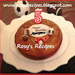 Rosy's Recipes: Chocolate Marble Cake