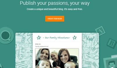 Cara Membuat Blog Dengan Blogger Pemula