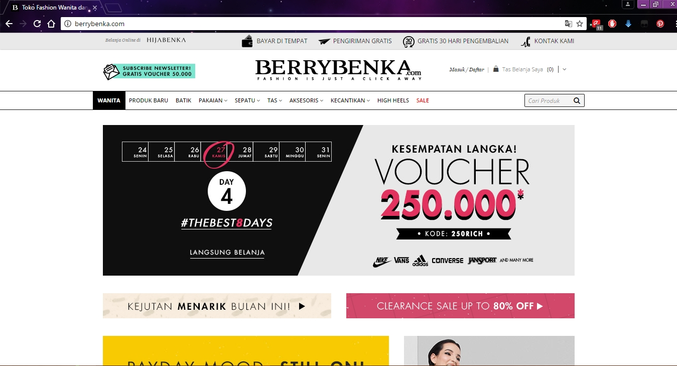 Siti Setya's Blog: Shopping at Berrybenka