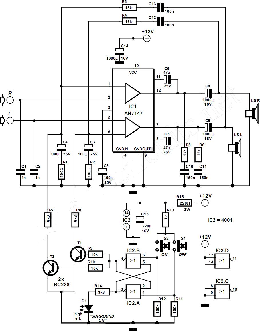 Subham's Electronics Circuits World: Audio Amplifier Circuits
