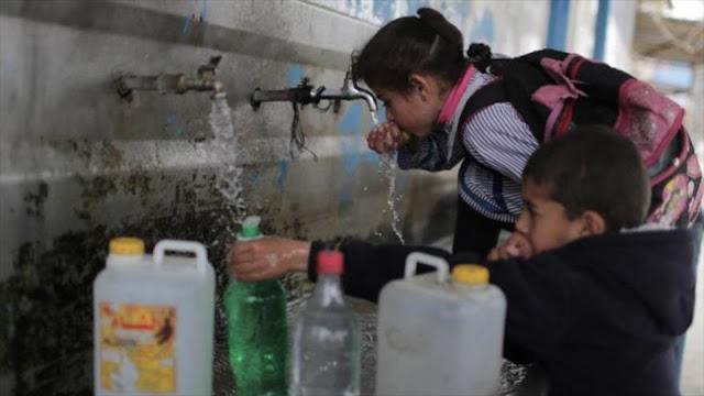 El 25 % de las enfermedades de Gaza son por contaminación del agua