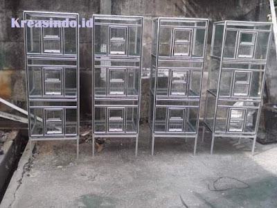 Jasa Kandang Alumunium di Bekasi dan Sekitarnya untuk Kandang Burung