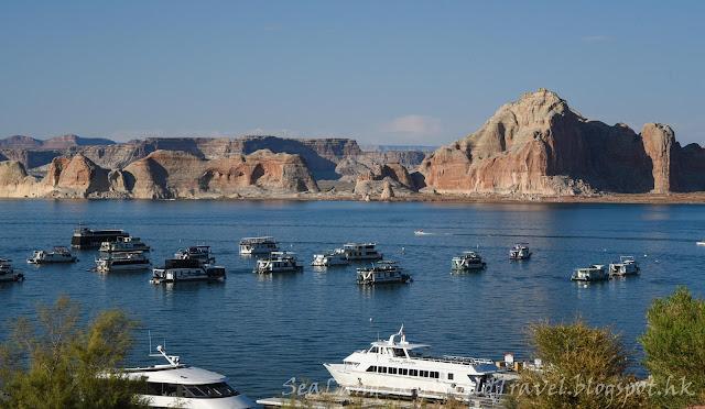 Glen Canyon Dam, 包偉湖, Lake Powell, Marine Resort