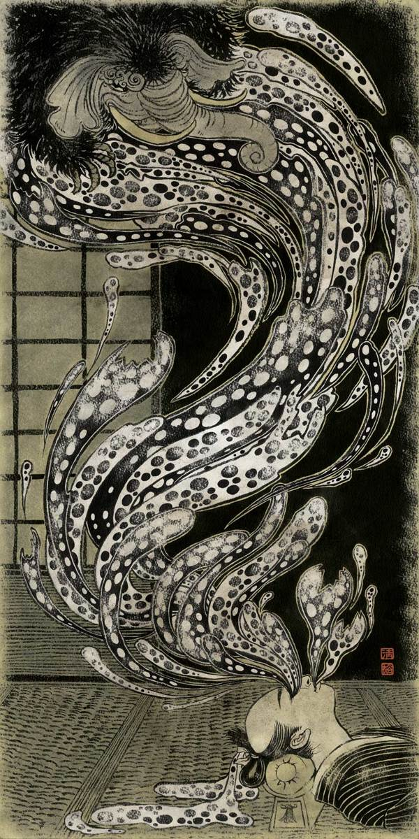 Doctor Ojiplático. Yuko Shimizu. Monsters and Mythical Creatures. Ilustración | Illustration