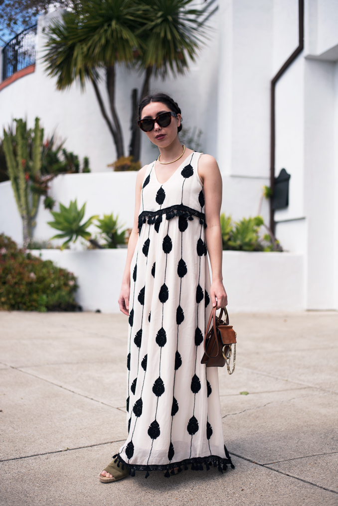 ReadyTwoWear - How to style a maxi dress