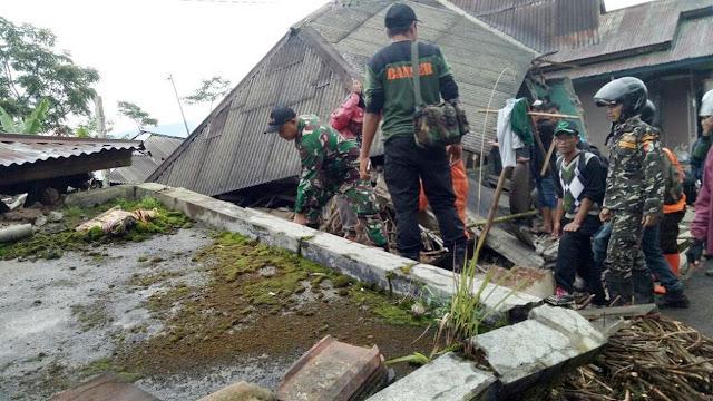 5 Gempa Yang Menggoyang Indonesia Pada Awal 2019