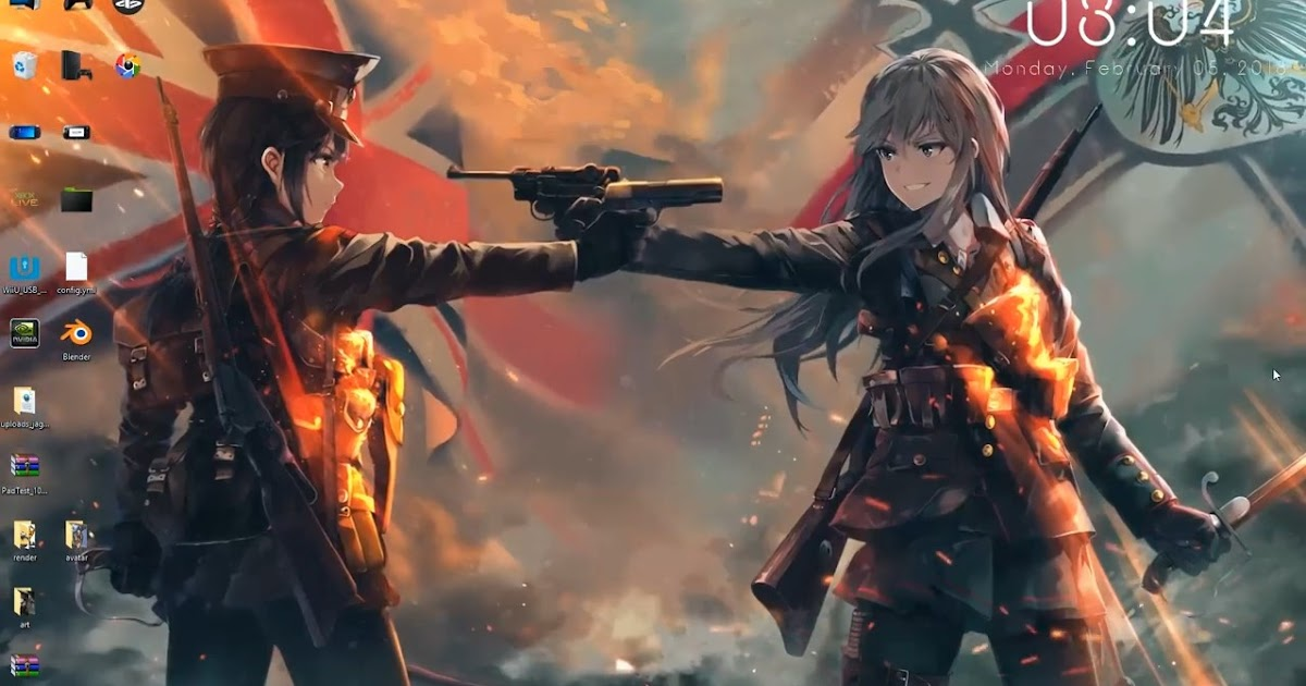 wallpaper engine anime girls the great war animated free ...