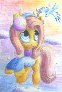 Fluttershy by Camellia (from DeviantArt)