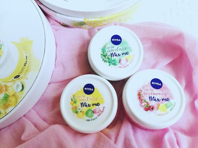 kremy NIVEA Soft Mix Me