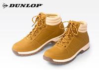 Buty męskie Dunlop z Biedronki żółte