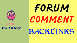 Forum Posting and Comment Backlinks