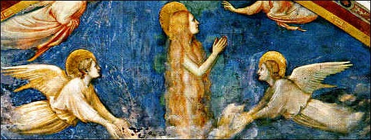 Giotto's The Ecstatic Magdalene c. 1300