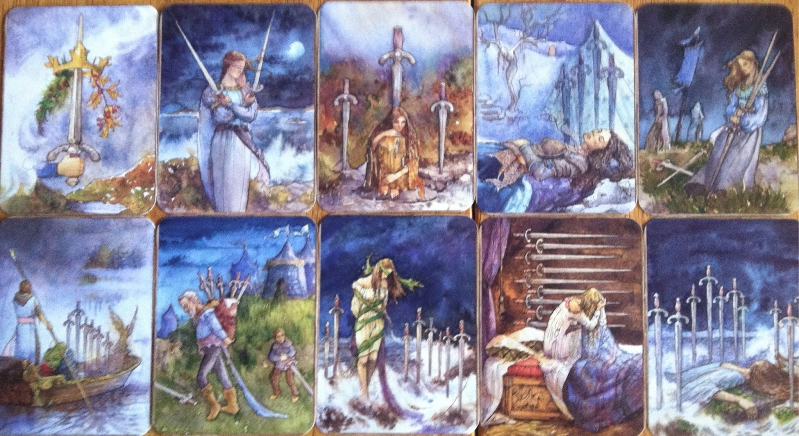 78 Whispers In My Ear: Tarot Foundations by Brigit Esselmont, Day 16