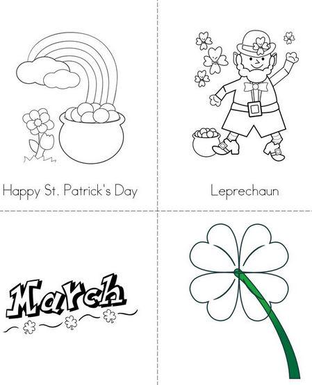 2019 St Patricks Day Crafts, Worksheets, Printables