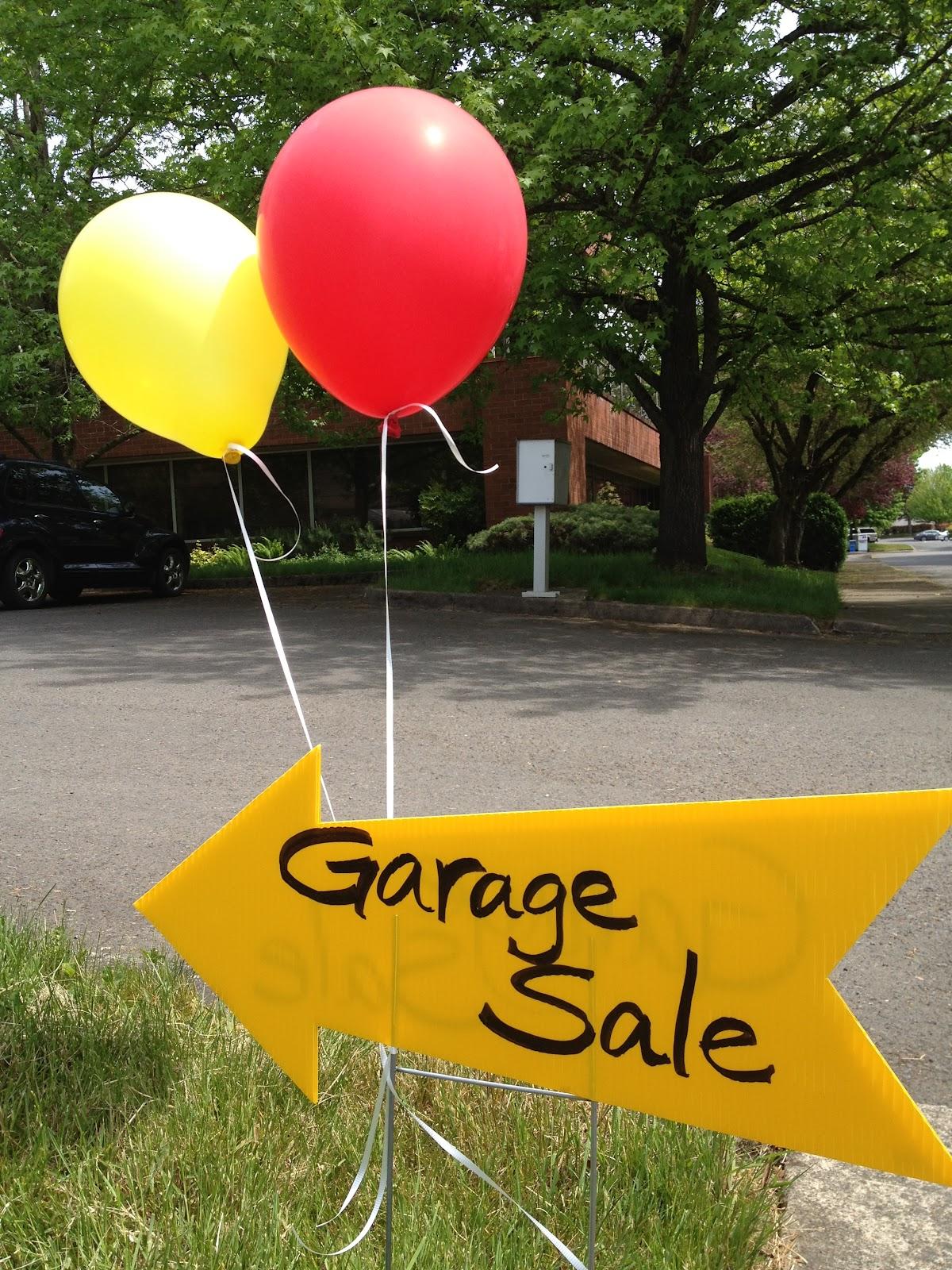 Inspired Whims Garage Sale Tips Amp Tricks