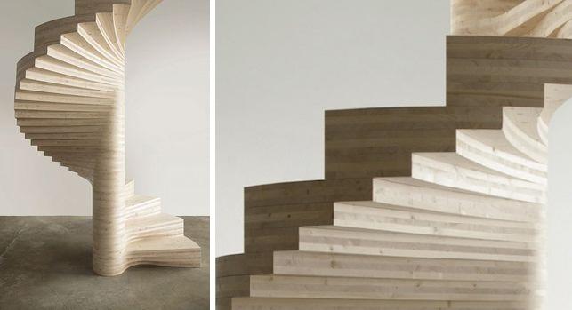 Escaleras de caracol en madera? Sus ventajas Espacios en madera