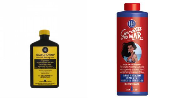 shampoos low poo sem sulfato