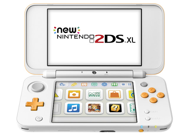 2DS XL portable is the new Nintendo console to be announced this July