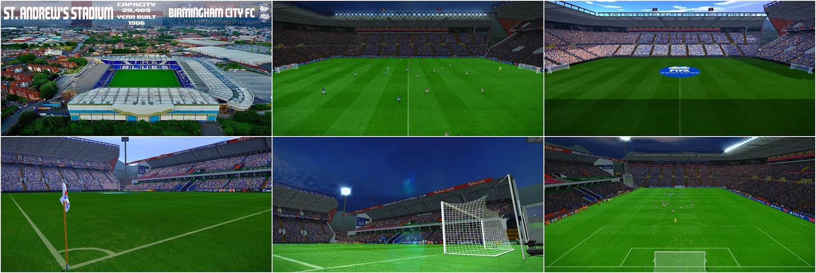 PES 2017 St. Andrew's Stadium by NaN RiddLe 08
