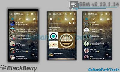 BBM Mod GoRankPathTooth v3.0.0.18 Apk Update Terbaru Gratis